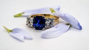 Cheshires Sapphire Ring 319