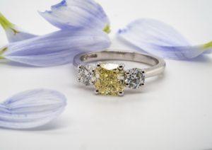Cheshires Yellow Sapphire Ring 320