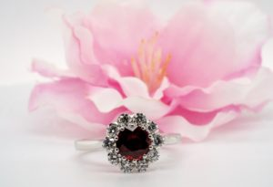 Ruby and diamond rind 302
