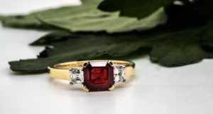 Ruby and diamond ring cheshires 305